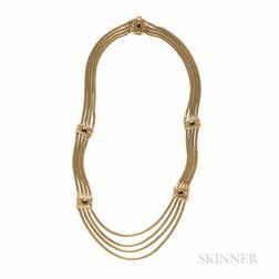SeidenGang 18kt Gold Gem-set Necklace