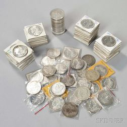 Approximately 111 Morgan Dollars