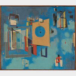 Serge Ivan Chermayeff (American, 1900-1996)      Ariel Architecture #6