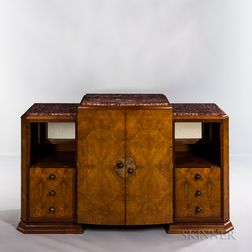 French Art Deco Side Cabinet