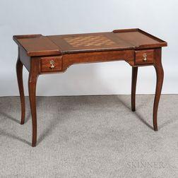 Louis XV-style Mahogany Games Table