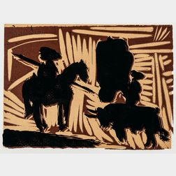 Pablo Picasso (Spanish, 1881-1973)      Avant la pique, I