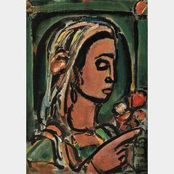 Georges Rouault (French, 1871-1958)      La Sybille de Cumes