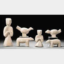 Six Steatite Figures