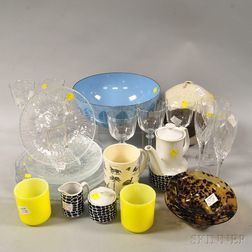 Group of Modern and Decorative Wares