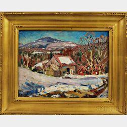 Thomas Eaton (American, 20th/21st Century)      Avard House, Jaffrey, New Hampshire