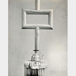 Todd Webb (American, 1905-2000)      Studio Stove, Paris