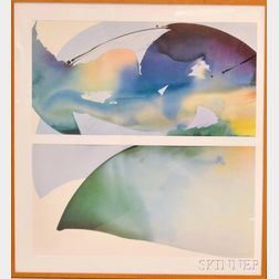 After Peter Kitchell (American, b. 1950)      Raindeer Night C + D