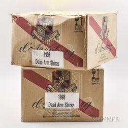 dArenberg Dead Arm Shiraz 1998, 12 bottles (2 x oc)