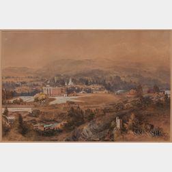 William McIlvaine Jr. (New York/California, 1813-1867)      Bellows Falls, VT.