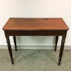 Classical Mahogany Console Table