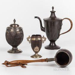 Four European Table Items