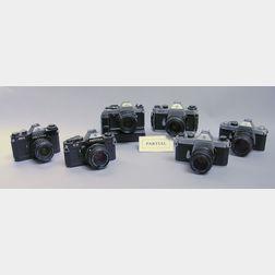 Ten Pentax Cameras