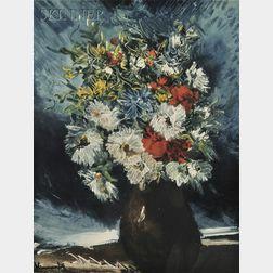 After Maurice de Vlaminck (French, 1876-1958)      Bouquet de fleurs