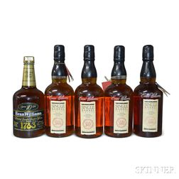 Mixed Evan Williams, 9 750ml bottles