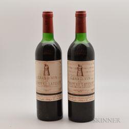 Chateau Latour 1977, 2 bottles