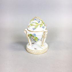 Meissen Egyptian Revival Porcelain Inkwell