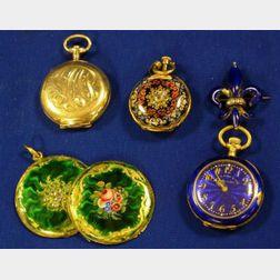 Three Women's Pocket Watches