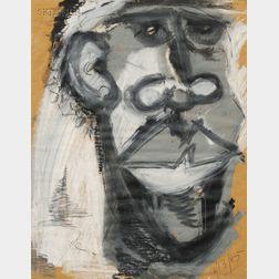 David Bethuel Jamieson (American, 1963-1992)      Portrait of a Man