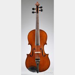 German Violin, Eduard Reichert, Dresden, 1913