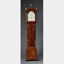 The Pierce-Nichols Family Mahogany Quarter-chiming Musical Tall Clock