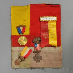 Part of a Spanish Flag Captured on San Juan Hill