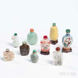 Nine Snuff Bottles