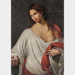 After Titian (Italian, c. 1485-1576)      Flora