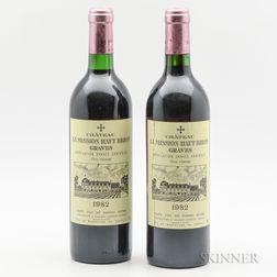 Chateau La Mission Haut Brion 1982, 2 bottles