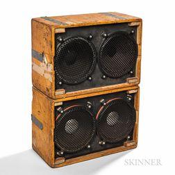 Grateful Dead     Wall of Sound Loudspeaker Cabinets, c. 1973