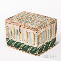 Small Wallpaper-covered Box