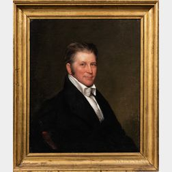 Chester Harding (Massachusetts, 1792-1866), Portrait of William Hammill (b. Plymouth, Massachusetts, 1778), Bangor, Maine, c. 1835-36,
