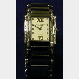 18kt White Gold and Diamond Wristwatch