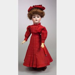 Kestner 162 Bisque Head Doll with Composition Lady Body