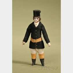 Dollhouse Gentleman with Top Hat