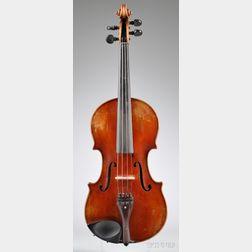 Markneukirchen Violin, Ernst and Rholand Schiller, c. 1925