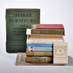Group of Books on the Shakers