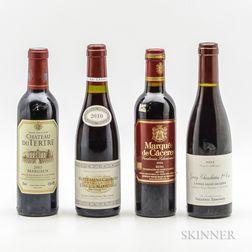 Mixed Worldwide Reds Demis, 4 demi bottles