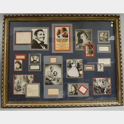 Large Framed Gone with the Wind   Montage