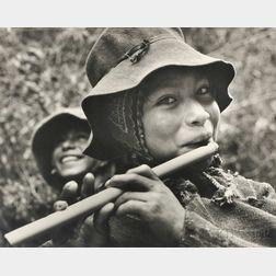 Eugene Harris (American, 1913-1978)      Peruvian Flute Player