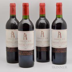 Chateau Latour 1983, 4 bottles