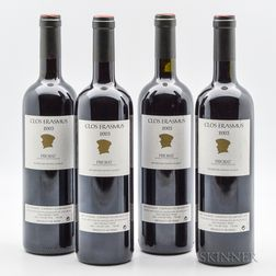 Clos Erasmus 2003, 4 bottles