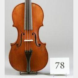 Good American Violin, George Gemunder, Astoria, c. 1880