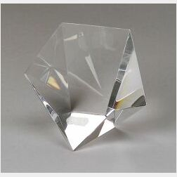 Steuben Colorless Glass Star Crystal