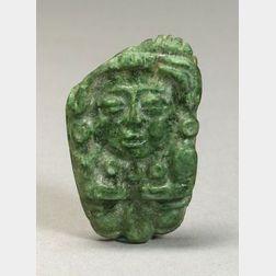 Pre-Columbian Carved Jade