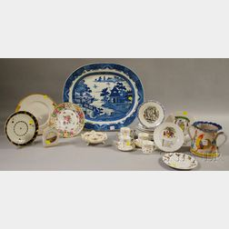 Group of European and Asian Decorated Ceramic Tableware