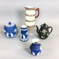 Five Wedgwood Ceramic Items