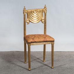 Gilded Ballroom Chair