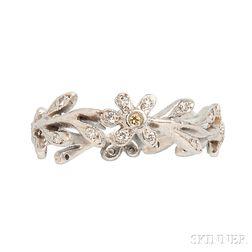 Platinum and Diamond Ring, Cathy Waterman
