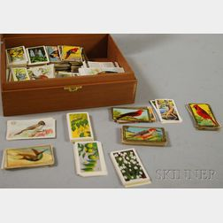 Collection of Botanical, Nature, and Animals Tobacco, Tea, and Soap Cards